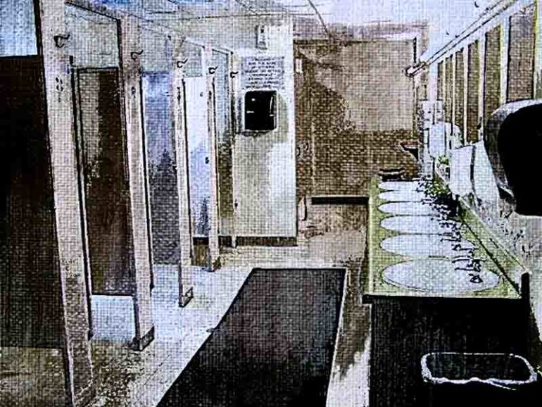 Использование ванных (туалетных) комнат