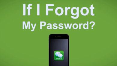 Photo of Восстановление забытого пароля WeChat