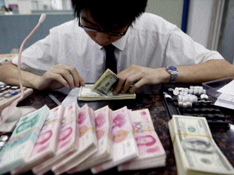 Расходы по займам в Китае достигли рекордно низкого уровня