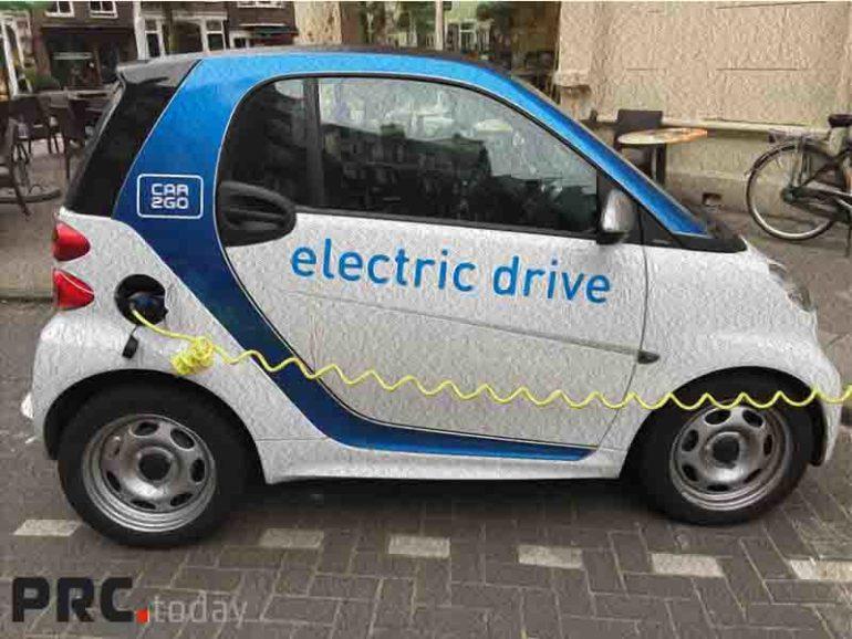 легковых электромобилей