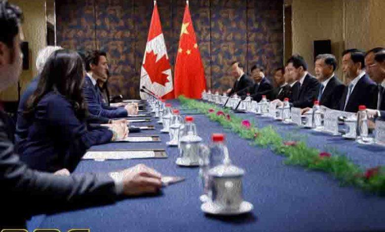 отношения между Китаем и Канадой