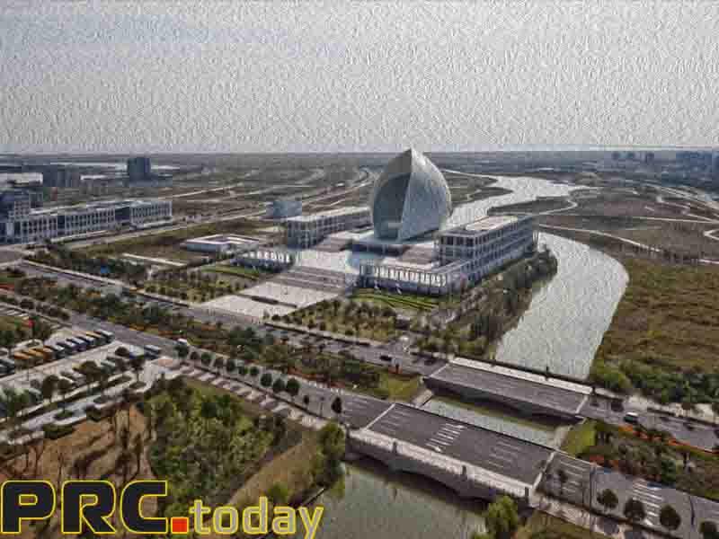 проекты стартовали в зоне Lingang