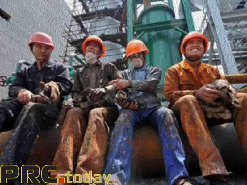 занятость в Китае