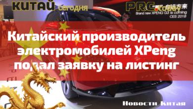 производитель электромобилей XPeng