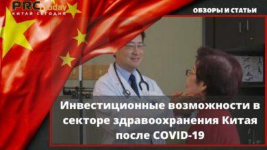 Photo of Инвестиционные возможности в секторе здравоохранения Китая после COVID-19
