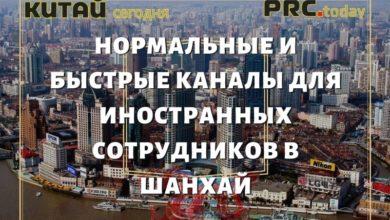 Нормальные и быстрые каналы для иностранных сотрудников в Шанхай