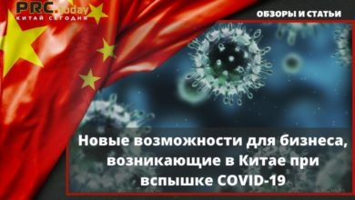 Photo of Новые возможности для бизнеса, возникающие в Китае при вспышке COVID-19