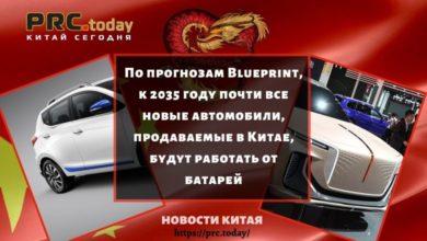 Photo of По прогнозам Blueprint, к 2035 году почти все новые автомобили, продаваемые в Китае, будут работать от батарей