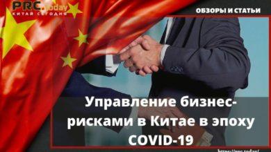 Photo of Управление бизнес-рисками в Китае в эпоху COVID-19