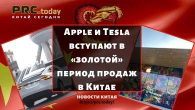Apple и Tesla вступают в «золотой» период продаж в Китае