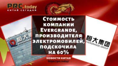 Стоимость компании Evergrande, производителя электромобилей, подскочила на 60%