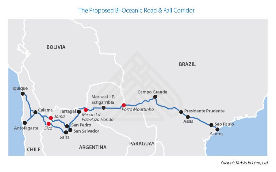 Южноамериканские проекты «Один пояс, один путь», на которые стоит обратить внимание иностранным инвесторам карта 6