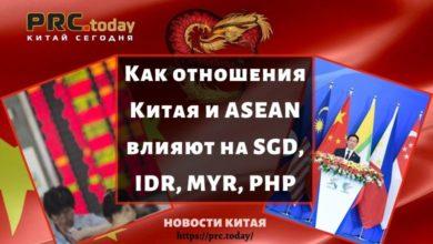 Как отношения Китая и ASEAN влияют на SGD, IDR, MYR, PHP