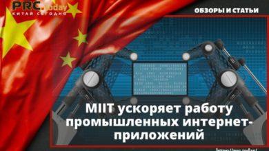 MIIT ускоряет работу промышленных интернет-приложений