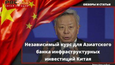 Независимый курс для Азиатского банка инфраструктурных инвестиций Китая