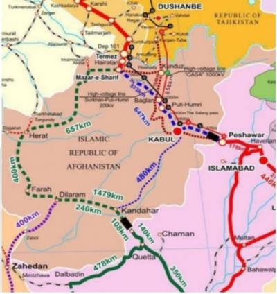 Пакистан, Афганистан и Узбекистан согласовали 573-километровую соединительную железную дорогу