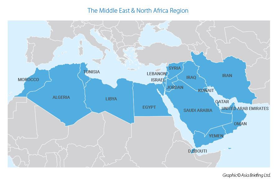 Пять проектов пояса и пути в странах Ближнего Востока и Северной Африки