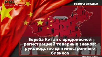 Борьба Китая с вредоносной регистрацией товарных знаков: руководство для иностранного бизнеса