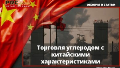 Торговля углеродом с китайскими характеристиками
