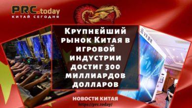 Крупнейший рынок Китая в игровой индустрии достиг 300 миллиардов долларов