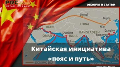 Китайская инициатива «пояс и путь»