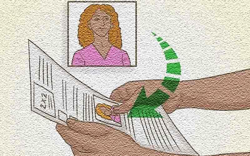 Заполните визовую форму с фотографией