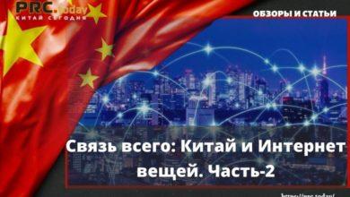 Связь всего: Китай и Интернет вещей. Часть-2