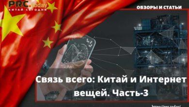Связь всего: Китай и Интернет вещей. Часть-3
